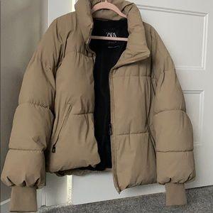 Zara Oversized Puffer